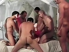 Pregnant group-fucked