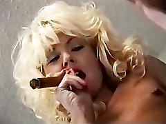 Cigar Smoking Strap-on