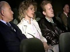 Lascivious pair in cinema