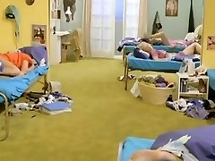 Six Swedish gals in a boarding school