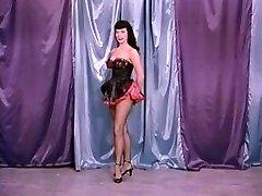 Vintage Stripper Film - B Page Teaserama video two