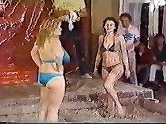 Titanic Toni Kessering Mud-Wrestling - 80s classic!