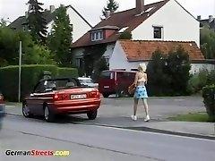 schoolgirl picked for for wild ride