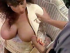 Sarah Young tit fuck and facial cumshot