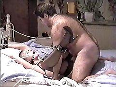 Vintage Amateur Bondage (beautiful girl and furry drill)