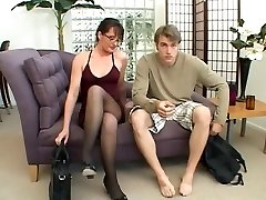 MILF loves to play with a big cock