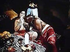 Arabian Queens pummel Huge Dark-hued Sudanese Cock and Big French Dick