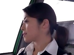 Crazy Japanese damsel Nao Mizuki, Hikari Hino in Horny Car, Cunnilingus JAV video