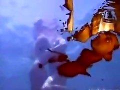 A wet dream - underwater rectal.