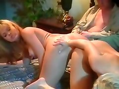 Exotic adult movie stars Dolly Golden and Barett Moore in best cunnilingus, threesomes sex video
