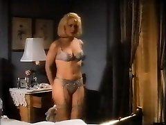 Lacy lingerie and some light restrain bondage.