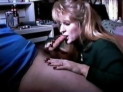 QueenMilf Vintage Oral Job 1996 with swallow (Full)