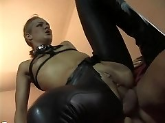 Linda Dolce as a submissive super-bitch visiting evil archbishop