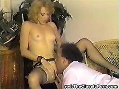 Klasičen retro vintage klasičnih pornstars