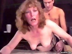 Retro Granny Assfucking