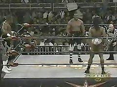 Damsel Bodybuilder Wrestling