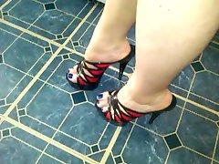 Röda och svarta klackar