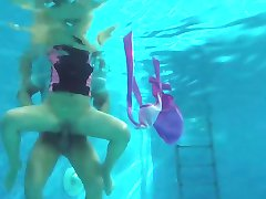 Relaxxxed - Horny Czech babe getting fucked in the pool
