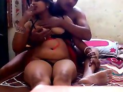Indian horny bhabhi smoking n getting ready for fuck session