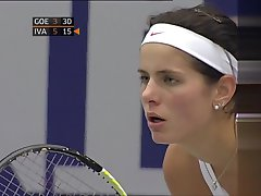 Julia Goerges - beautiful breasts in Linz 2010