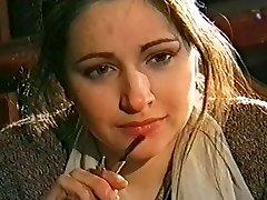 Luba Tikhomirova - színésznő a Moszkvai színház Marduk