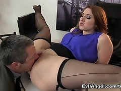 Fabulous pornstars Jimmy Broadway, Rose Crimson in Amazing Red-haired, Big Ass xxx video