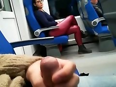 A blowjob from a stranger on the train