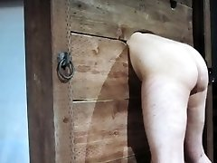 Enslaved whore punished with steaming wax