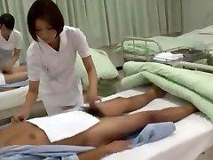 Crazy Japanese model Yuzu Yamanashi, Imai Natsumi, Miku Tanaka in Extraordinaire Nurse JAV sequence