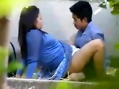 Pregnant girl spy when drilled by her husband friend