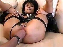 increíble casero de perforación, fisting porno clip