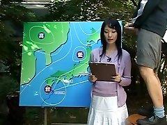 Name of Chinese JAV Nymph News Anchor?