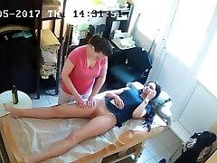 orosz rejtett kém kamera: anti-cellulit masszázs