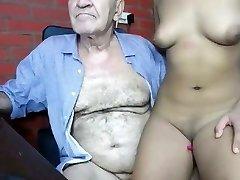 grandpa romul fucking young woman