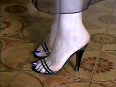Min Nakna och i Stockings lång blå Tår!!!!!
