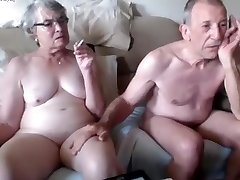 Crazy Homemade record with Webcam, Grannies vignettes