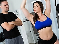 Kendra Fervor & Keiran Lee in Intimate Trainers: Session 1 - Brazzers
