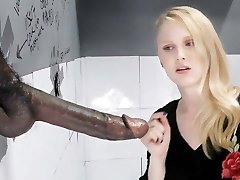Lily Rader Sucks And Pulverizes Big Black Dick - Gloryhole