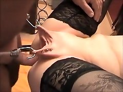 Awesome amateur Close-up, BDSM porn clip
