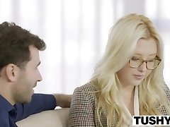 TUSHY Very First Ass Fucking For Blonde Samantha Rone