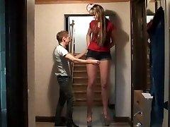 Lång tjej vs kort kille höjd jämförelse