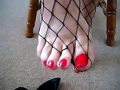 vackra mormor fötter - saf