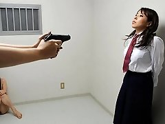 Yui Saejima in Naked babes are playing rough games in the prison - AviDolz