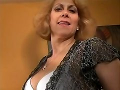 Beautiful Blonde MILF Dana Devine Toys Cunny and Gets Fucked