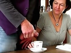 Crazy Fledgling clip with Dark-haired, Grannies scenes