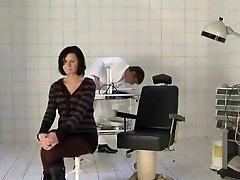 embarazada milf follada duro por el ginecólogo