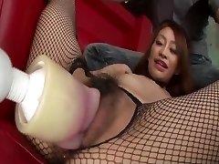 Naughty toy porn with kinky backside Yuu Kusunoki