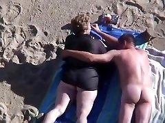 strand érett bbw
