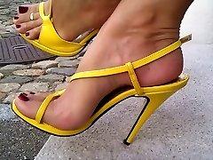 Back on high heels