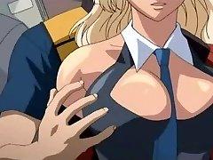 Anime milf κορίτσι παίρνει fucked σκληρά